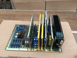 Fanuc Motherboard A16b 1010-0050 17c Plus 5 Other Boards Guaranteed