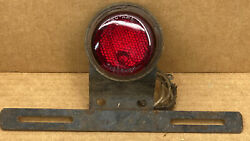 Vintage Nu Ray Tiger Ey License Plate Light Brake Light With Do-ray 1085