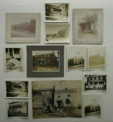 New Alexandria Pa Antique Photo Lot 7 - Cook Family Homestead House
