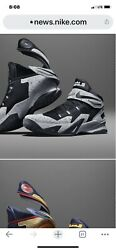 Nike Lebron Zoom Soldier Viii Early Productionsz 12.5 Charcoal/black-new No Box