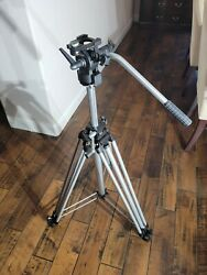 Manfrotto Bogen 3046 Tripod And 3063 Head Max Height 76 Fluid Head For Video