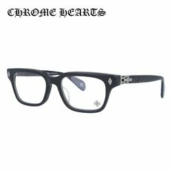 Chrome Hearts Glasses Frame Testerical Mbk 52 Black And Silver Frame Made In Japan