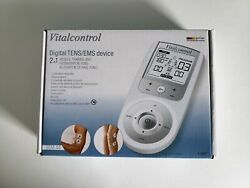 Vitalcontrol Digital Tens/ems Device 2-in-1 Muscle Training And Regeneration All