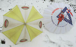 Amstel Beer And The Beefeater Trophy Whitebread Round The World Umbrella 50 Lot