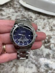 Fossil Menandrsquos Watch St Petersburg Bowl New 5331 Needs Battery