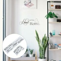 2pcs Wall Clings Removable Kitchen Stickers for Wall Kitchen