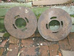 Vintage Lawn Tractor Wheel Weights