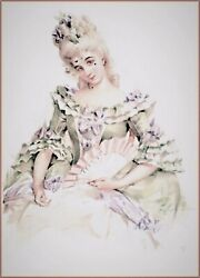 Maud Humphrey | Artist In The Making ' Belle Marquise' Art Print