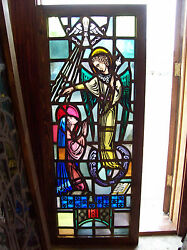 Annunciation Gabriel And Mary Stained Glass Window Sg 1431