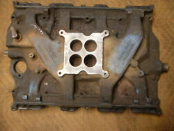 Ford 390 4 Barrel Intake Manifold C1ae-9425-b 0m16 Date Code For 1961