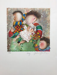 G. Boulanger May 2000 Millenium Calendar Suite Hand Signed Numbered Lithograph