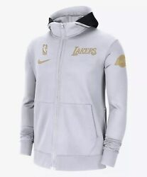 New Nike Los Angeles Lakers 2020 Nba Champions Ring Ceremony Xl Full Zip Hoodie