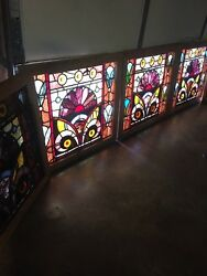 An 77 1available Price 4 Sold Antique Stainglass Windows Rondell's Jewels