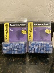 2 Platinum Tools 18132 Ub-type 22-26 Awg Gel-filled Splicing Connectors 100-pack