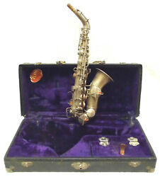 Vintage King Curved Soprano Saxophone In Good Condition - Make An Offer