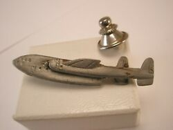 -fairchild C-119 Flying Boxcar Twin Tail Aircraft Vintage Lapel Pin Lockheed