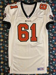 Rare Adidas Pro Line Nfl Tampa Bay Buccaneers Tony Mayberry Football Jersey
