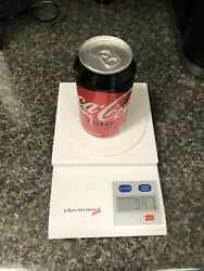 Extremely Rare Factory Error Sealed Coke Zero Can Collector's Item
