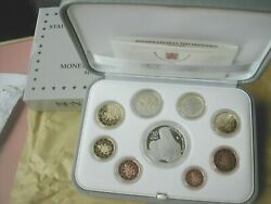 Vatican Pope Francis Official 2020 Proof Set 9 Coins With Silver 20 Euro
