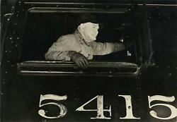 C. 1920and039s Train Conductor Photograph By Lewis Hine Men At Work