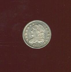 1835 Capped Bust Half Dime | Lm-4 | Nice Almost Uncirculated | Cp2803