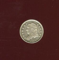 1835 Capped Bust Half Dime | Lm-3 | Nice Almost Uncirculated | Cp2802