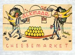 Cheesemarket Metal Tin Sign Old Ads Living Room Vintage Reproduction Metal Signs