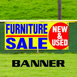 Furniture Sale New And Used Shop Unique Novelty Indoor Outdoor Vinyl Banner Sign