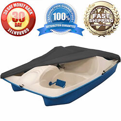 Waterproof Pedal Boat Storage Cover Fits Most 3-5 Person Pedal Boats Grey