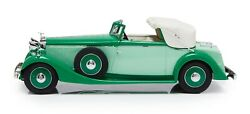 New Esval 1934 Hispano Suiza J12 Drophead Coupe Fernandez And Darrin 1/18 Resin