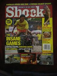 Shock Magazine February 2007 Issue Us Edition Book Rare Oop Value Extreme Htf Vg