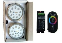 Deeptech Breeze Underwater Light Boat And Yacht Rgb Color 2 X 27w Rgb Controller