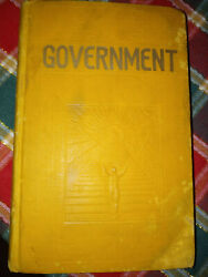 Government J F Rutherford 1928 Watchtower Jehovah .org, Embossed Ibsa Back