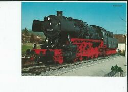 Dutch Or German Late Model Steam Engine,some Used In South Africa Postcard.