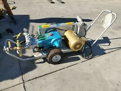 Conco Pump System Pro 200-b Cat 3535 Tube Cleaning System W/ Hoses Guns Etc.
