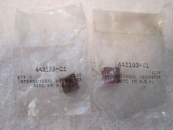 Ih Scout Ii - Anti Rattle Front Brake Clips - Nos - Set Of Two 2