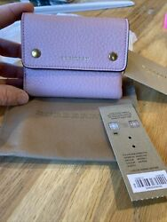 Burberry Small Leather French Wallet Women#x27;s $320.99