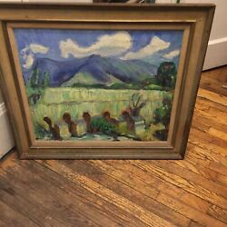 Rene Richard Listed Canadian Canada Artist Painting Curatorand039s Estate