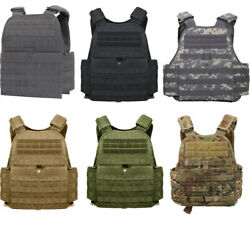 Rothco 8922 Molle Plate Carrier Tactical Vest - Holds 10x12 Plates