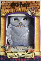 2001 Schilling Harry Potter Hedwig Collectible Tin Bank Very Rare New In Box