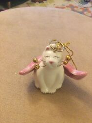 Amy Lacombe Whimsiclay Angelica Figurine Ornament 2002