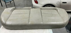 92-98 Bmw E36 3-series Sedan Rear Seat Bottom Bench Pad Grey Napa Leather Oem