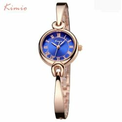 Rose Gold Ladies Dress Watches Stainless Steel Party Xmas Gift Mum Women Fashion