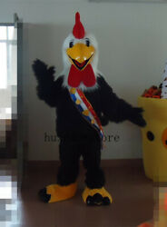 Rooster Mascot Costume Christmas Birthday Party Suit Fancy Dress Carnival Outfit