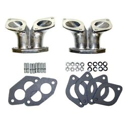 Dual Intake Manifolds For Weber Idf And Hpmx Carbs Type 3 Dunebuggy And Vw