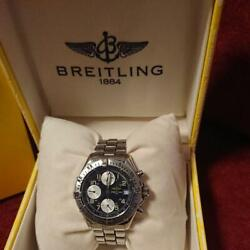 Auth Breitling Watch Chronograph Colt Automatic Vintage F/s