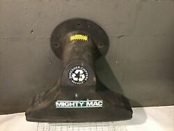 Mighty Mac Leaf Vac Vacuum Chipper Bagger Front Suction Chute Attachment