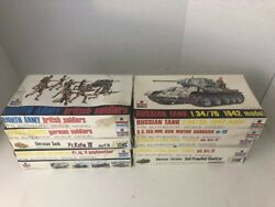 Lot Of 10 Esci 1/72 Model Scale Kits - Military Wwii German Infantry - New