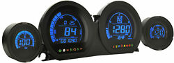 Koso Hd-03 Four Gauges Kit For 14-16 Harley Flhx2