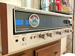 Vintage Pioneer Stereo Receiver Sx-636 Am/fm Made In Japan - Left Channel Out